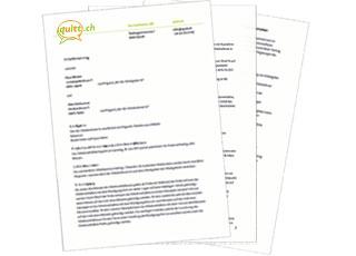 Arbeitsvertrag Documents Work Contract