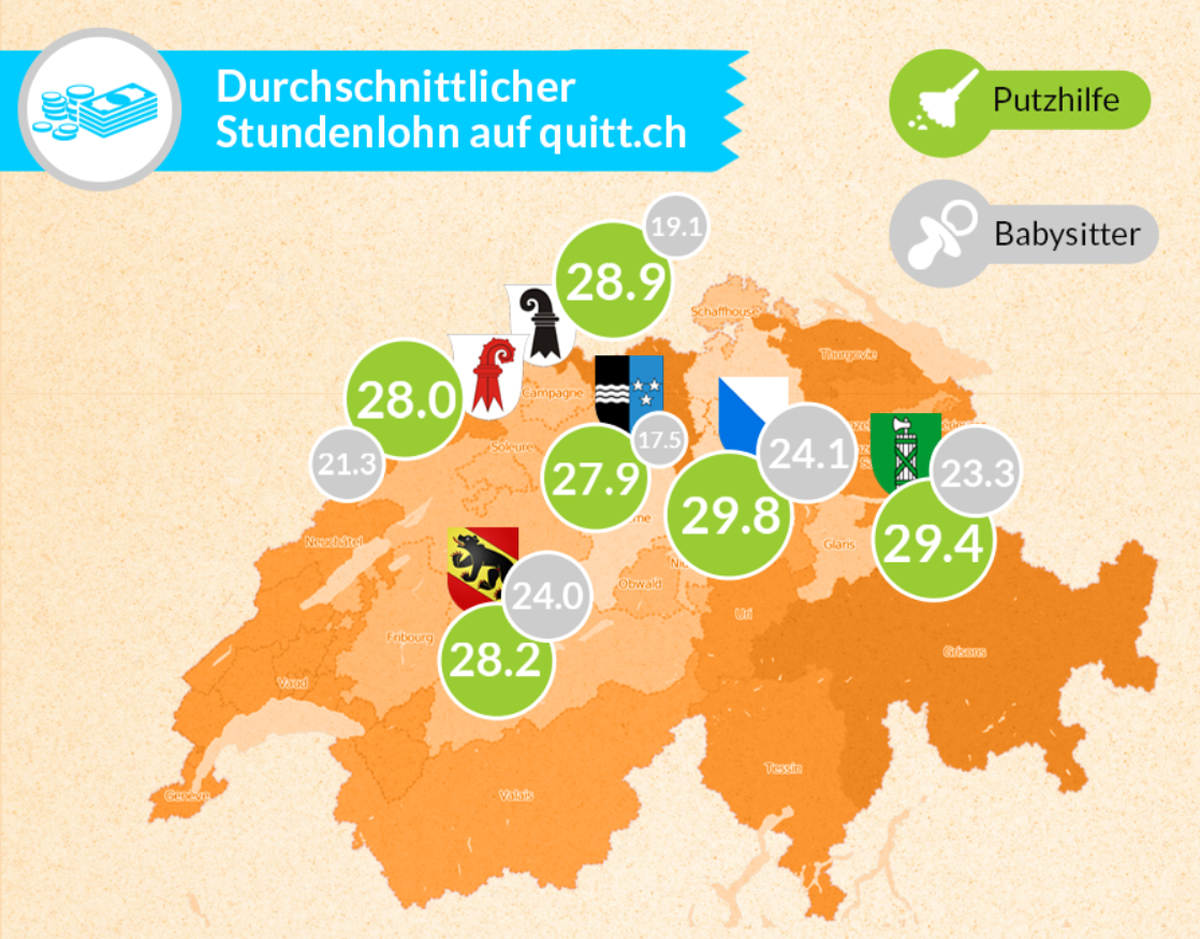what are fair wages for a cleaner in switzerland a blog by ch minimal wages in switzerland update 2017