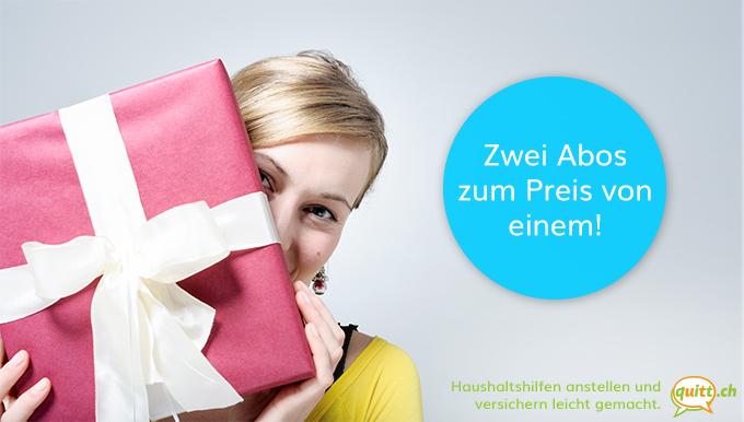 Neukundenaktion: Zwei Abos Zum Preis Von Einem!