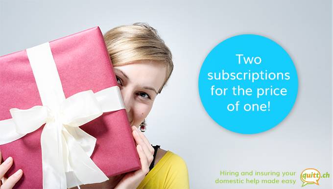 New Customer Promotion: Two Subscriptions For The Price Of One