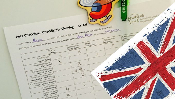Checklist English Quitt.ch