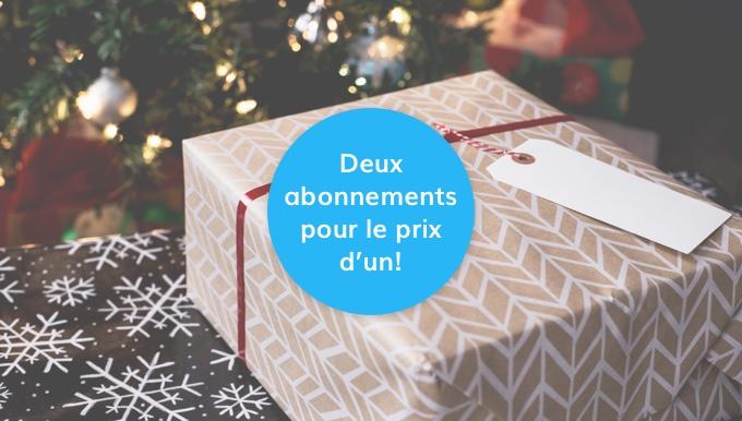 Promotion Pour Nouveaux Clients: Deux Abonnements Pour Le Prix D'un.