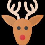 quitt.ch christmas new year deer rudolf