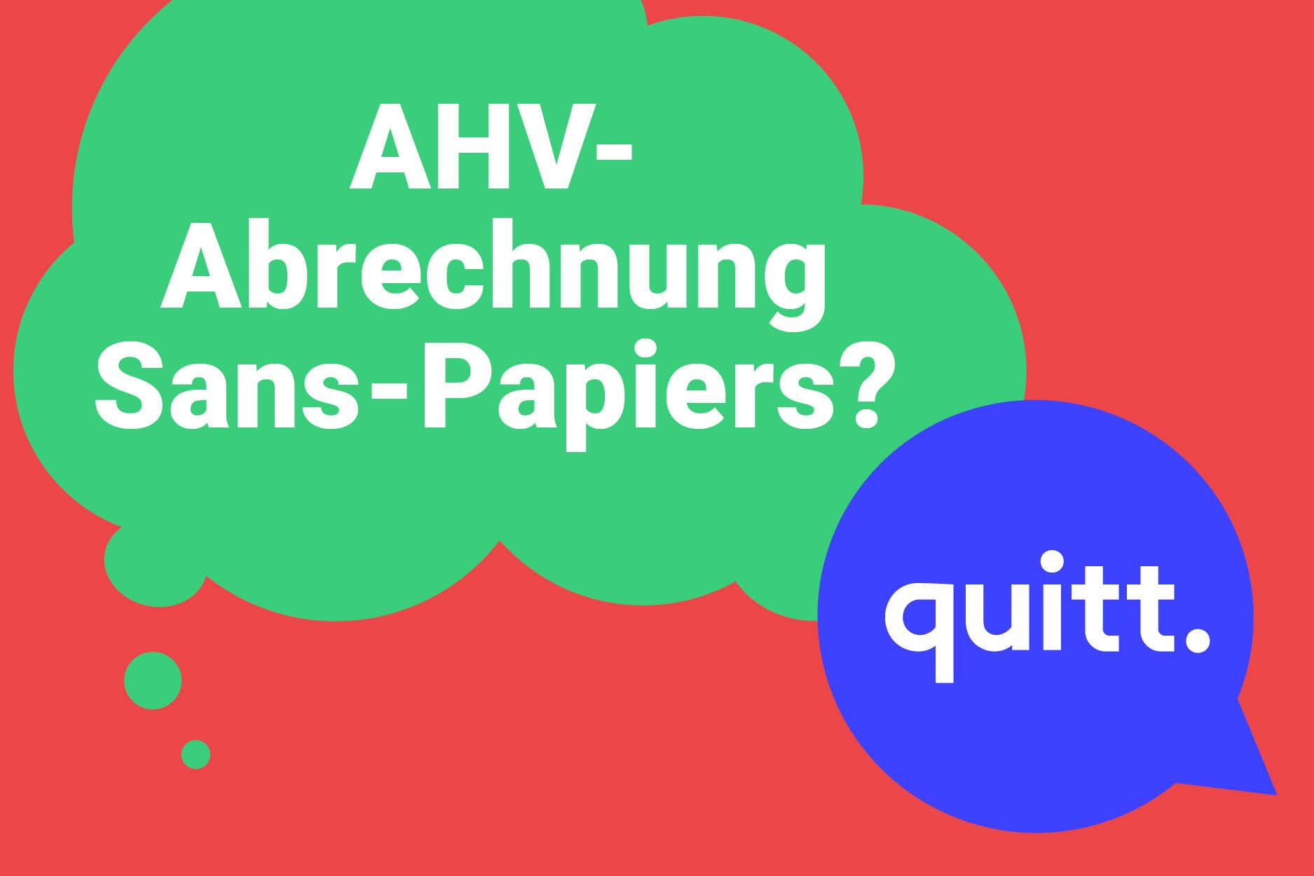 Quitt. Kann Ich Meine Sans Papiers Haushaltshilfe Bei Der AHV Abrechnen?