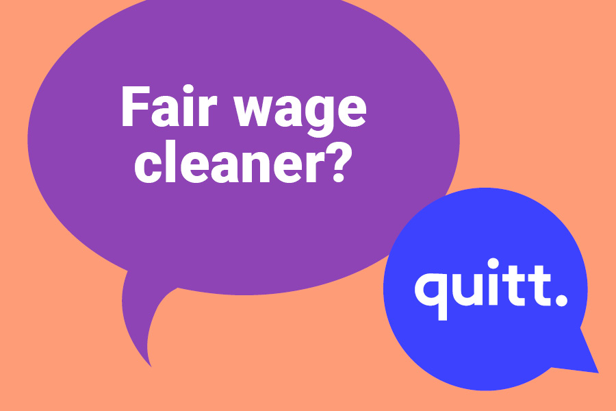 What Is A Fair Wage For Cleaners?