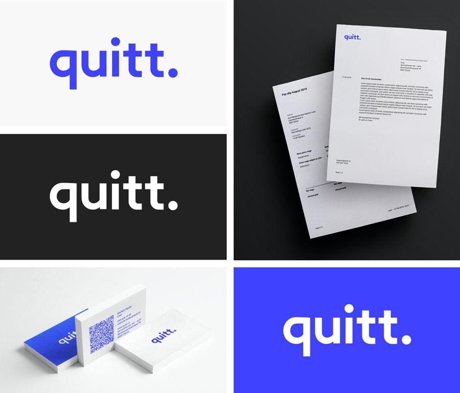 quitt., quitt Brand, quitt. Logo, quitt Logo, Brand quitt.